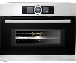 Bosch Serie 8 CMG636BS2 Compacte combi-oven - RVS - CMG636BS2_SS - 1