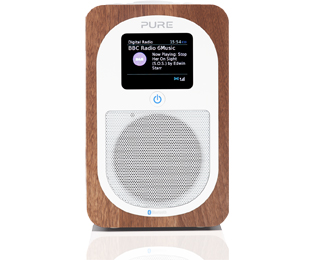 Pure Evoke H3 Walnut DAB+ Radio - Walnoot - Evoke H3 Walnut_WN - 1