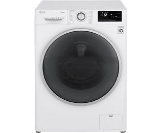 LG FH4J7VY1WD Wasmachine - 9 kg, 1400 toeren, A+++ -30% - FH4J7VY1WD_WH - 1