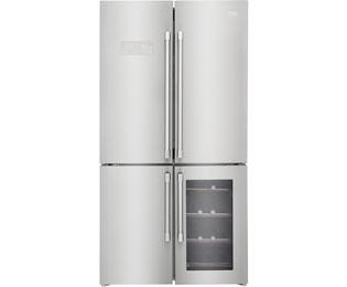Beko GN1416220CX Amerikaanse koelkast - Roestvrijstalen effect, A+