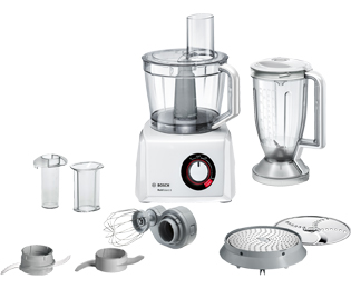 Bosch MC812W501 Foodprocessor - Wit - MC812W501_WH - 1