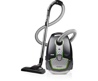 Princess Vacuum Cleaner Silence DeLuxe 335000 Sledestofzuiger met zak - Zwart - Vacuum Cleaner Silence DeLuxe 335000_BK - 1