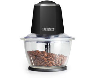 Princess Smart Chopper 221010 Hak- en snijmachine - Zwart, 1 Liter - Smart Chopper 221010_BK - 1