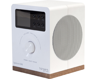Tangent Spectrum DAB+ White DAB+ radio - Wit - Spectrum DAB+ White_WH - 1