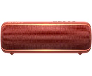 Sony SRS-XB22 Bluetooth luidspreker AUX, Outdoor, stofdicht, watervast Rood