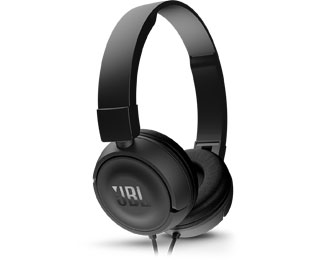 JBL Harman Koptelefoon Kabel On Ear Headset Zwart