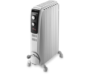 De'Longhi Dragon4 TRD4 0820 Oliegevulde radiator - Wit - TRD4 0820_WH - 1