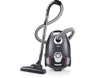 Princess Vacuum Cleaner Silence DeLuxe 335001 Sledestofzuiger met zak - Zwart - Vacuum Cleaner Silence DeLuxe 335001_BK - 1