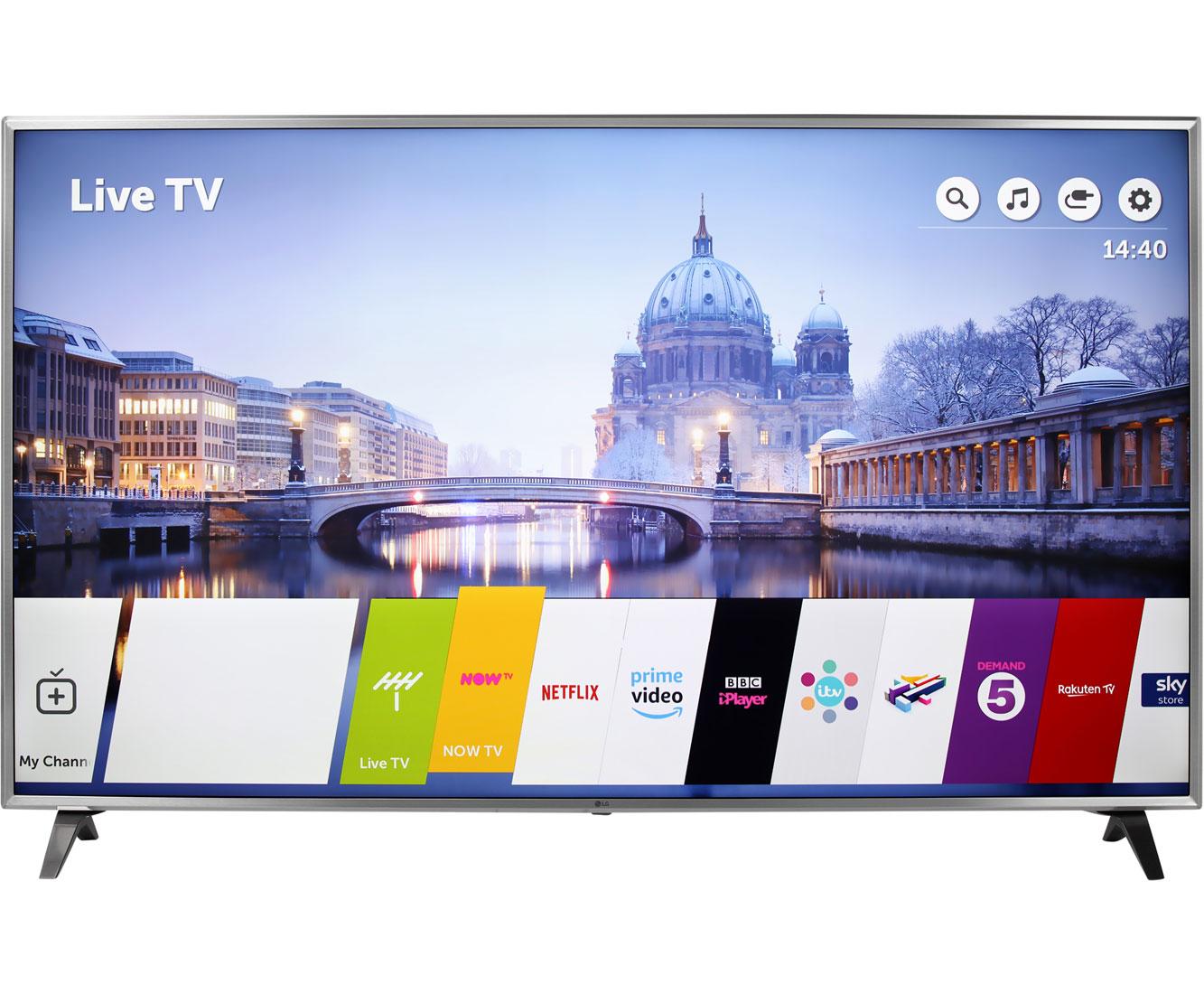 LG 86UK6500PLA Fernseher - Silber
