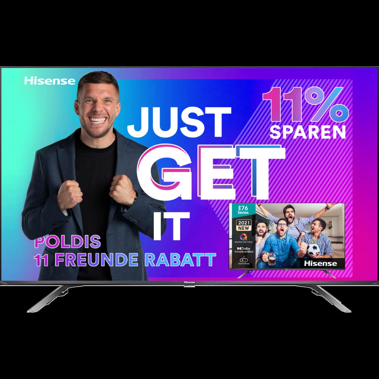 Hisense 55E76GQ Fernseher - Schwarz