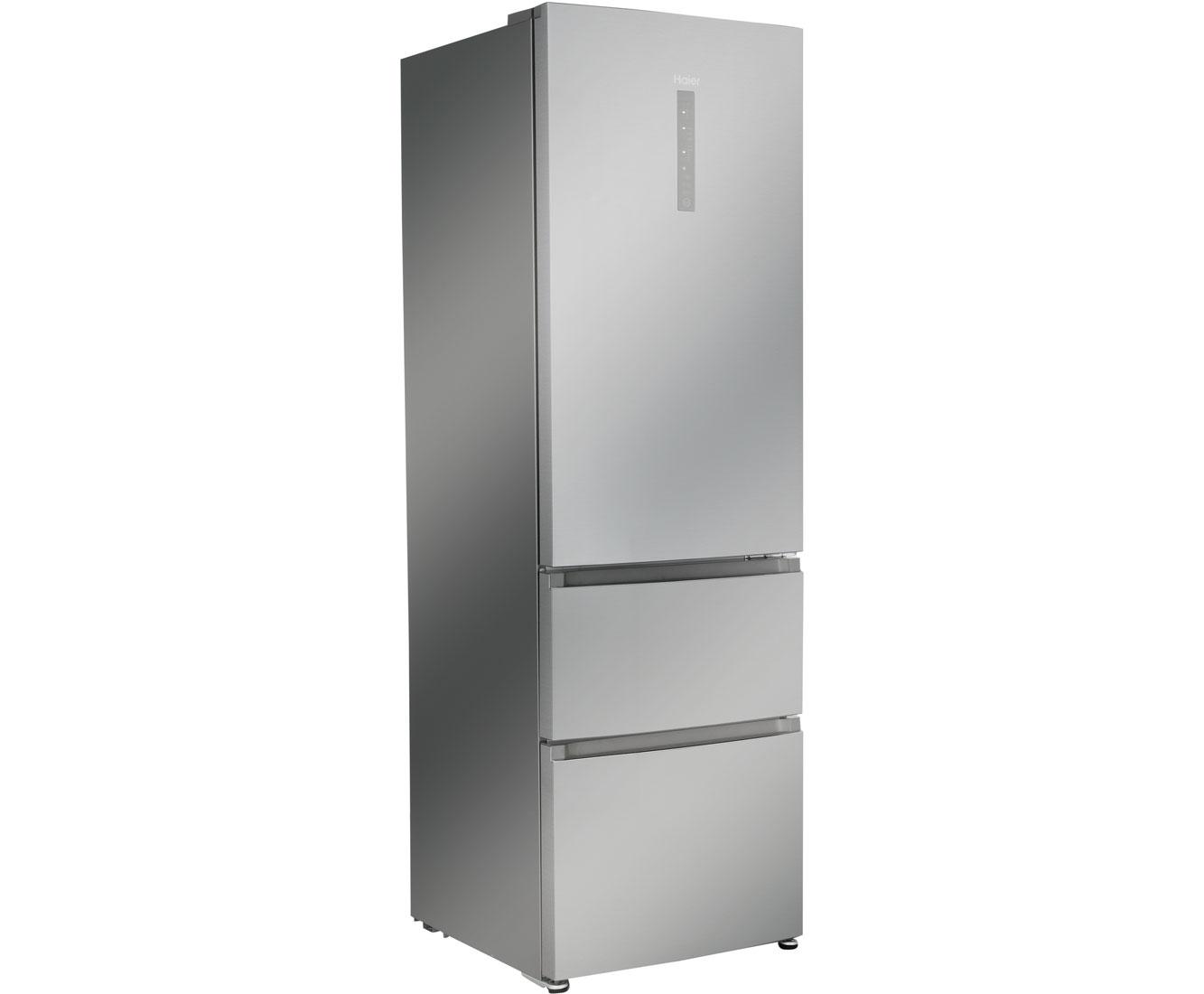 Bosch Kühlschrank Kühlt Nicht Mehr Richtig : Haier a3fe735cgje kühl gefrierkombination mit no frost silber a