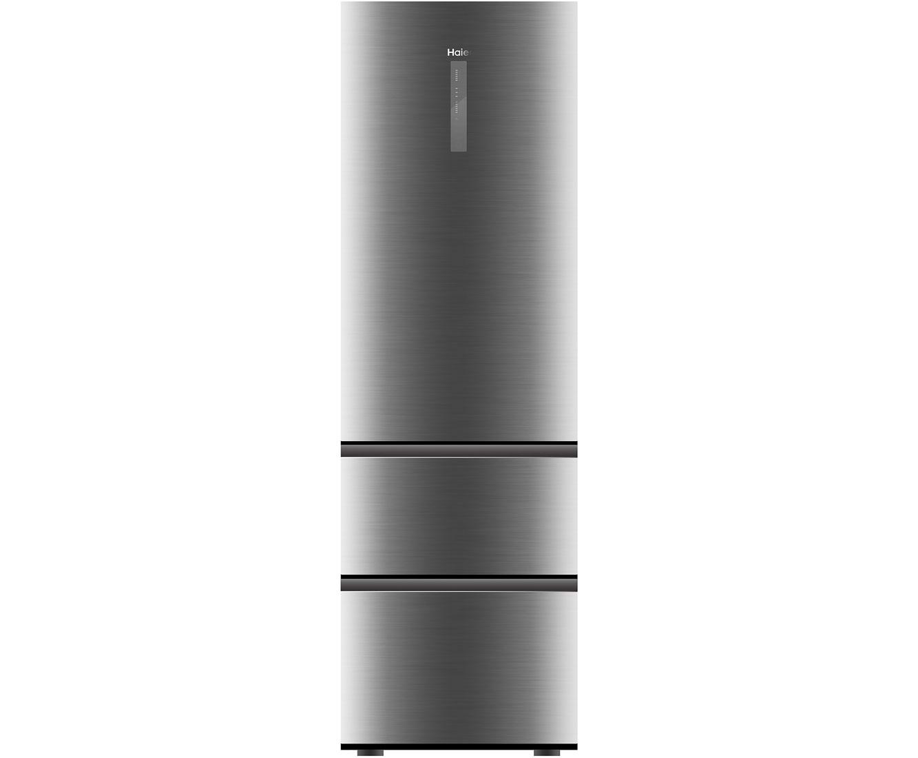 Haier A3FE735CMJ Kühl-Gefrierkombinationen - Edelstahl | Küche und Esszimmer > Küchenelektrogeräte > Kühl-Gefrierkombis | Edelstahl | Haier