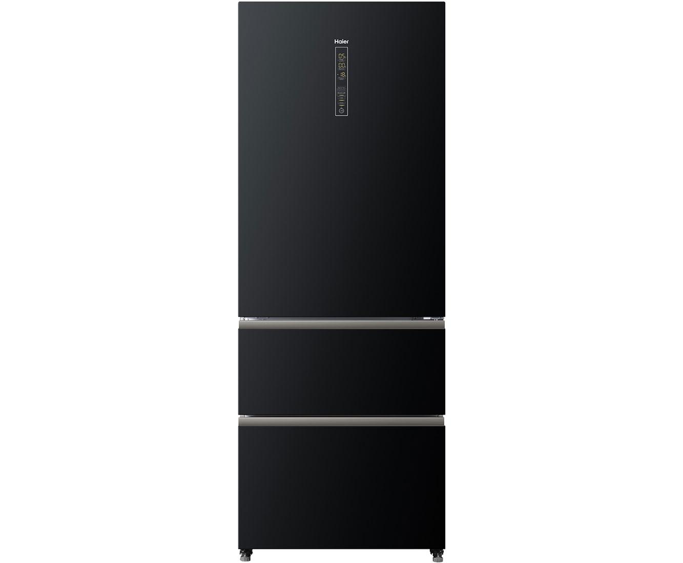 Haier A3FE742CGBJ Kühl-Gefrierkombinationen - Schwarz | Küche und Esszimmer > Küchenelektrogeräte > Kühl-Gefrierkombis | Schwarz | Haier