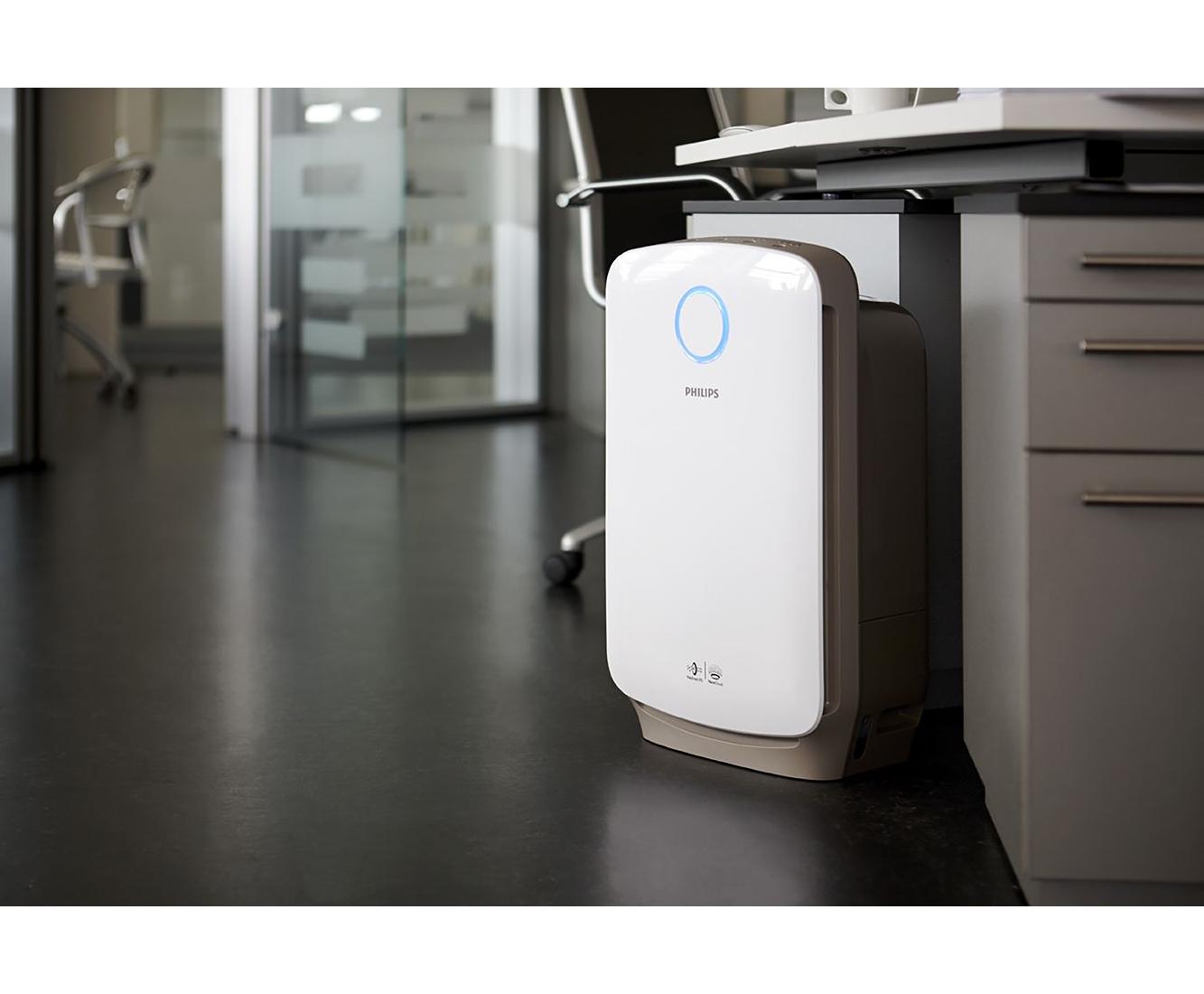 Philips AC4080/10 Luftreiniger - und befeuchter, 60 Watt - Weiss