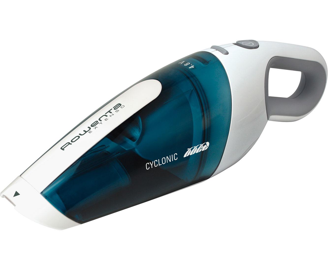 Rowenta AC 4461 Staubsauger - Weiß / Blau | Flur & Diele > Haushaltsgeräte > Staubsauger | Weiß - Blau | Rowenta