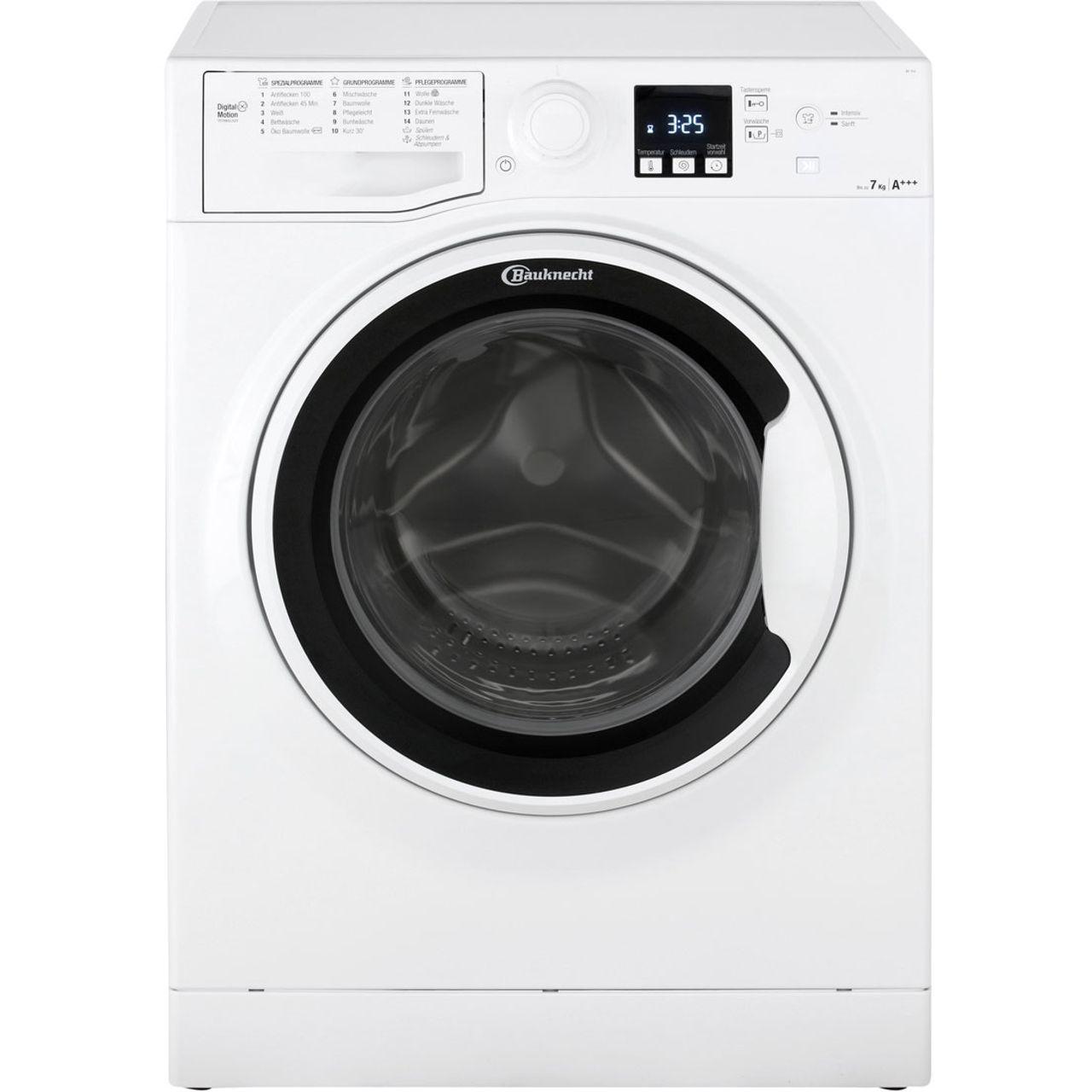 Bauknecht af f waschmaschine kg u min a