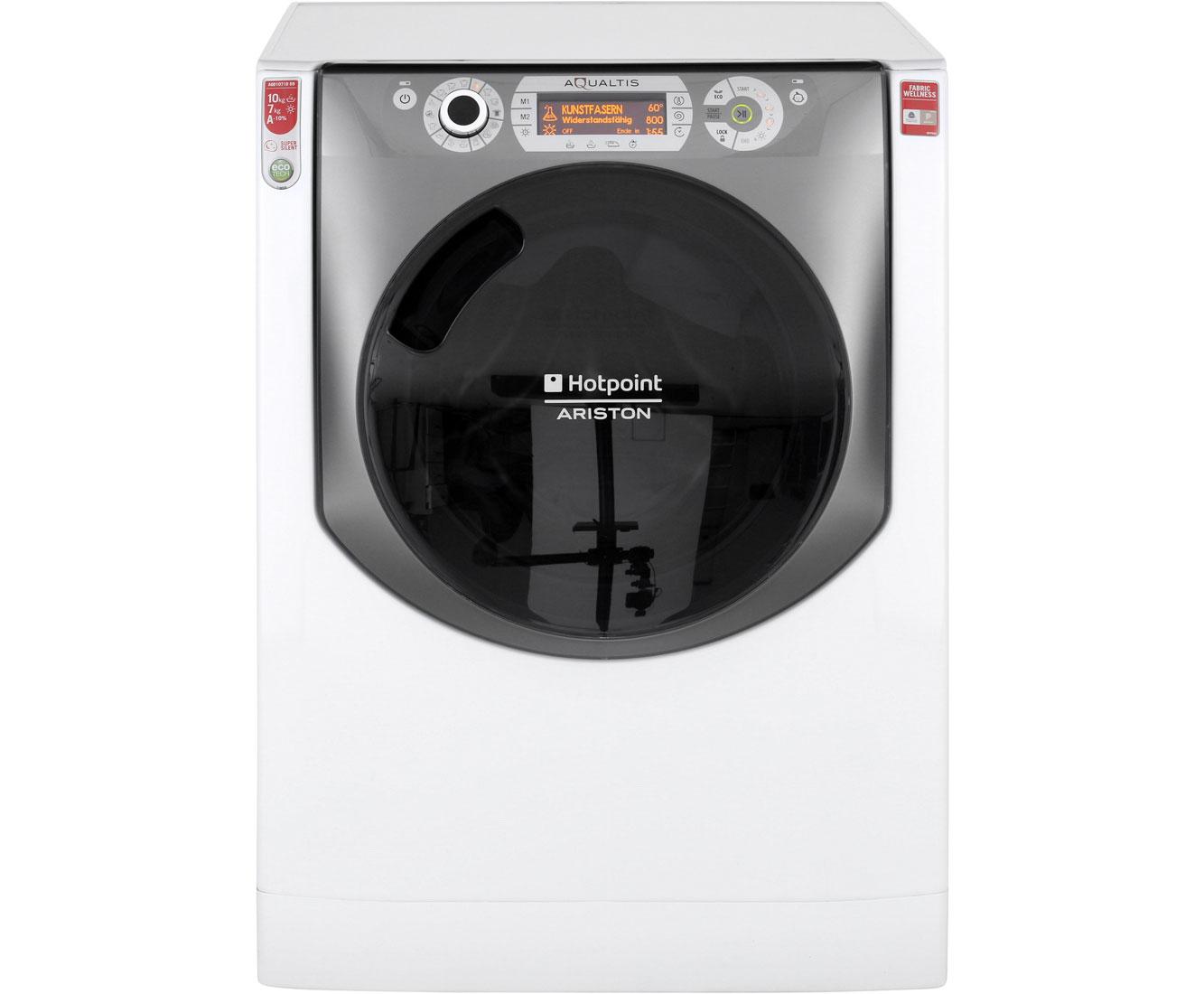 Hotpoint aqd d eu a waschtrockner freistehend weiss neu ebay