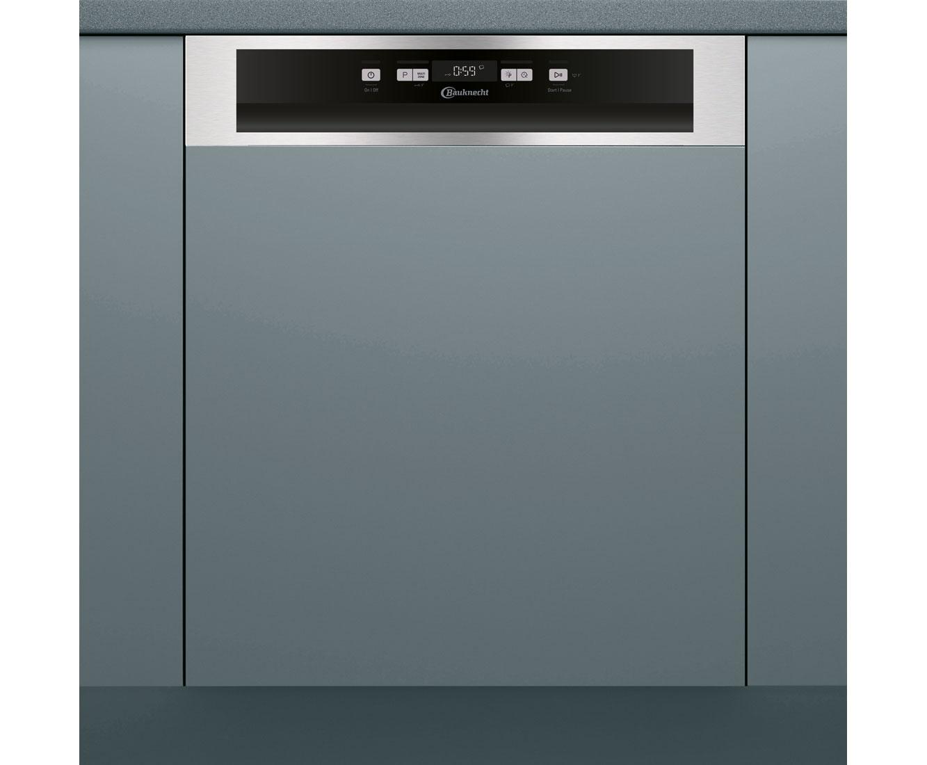 Bauknecht BBC 3C26 PF X A Geschirrspüler 60 cm - Edelstahl | Küche und Esszimmer > Küchenelektrogeräte > Gefrierschränke | Edelstahl | Bauknecht
