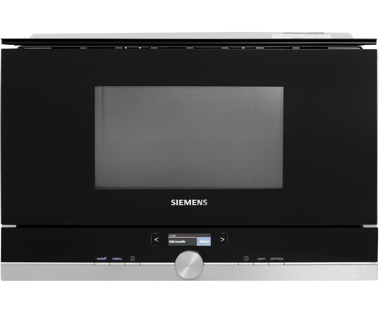 Siemens Einbau Mikrowelle Mit Grill Und Heissluft