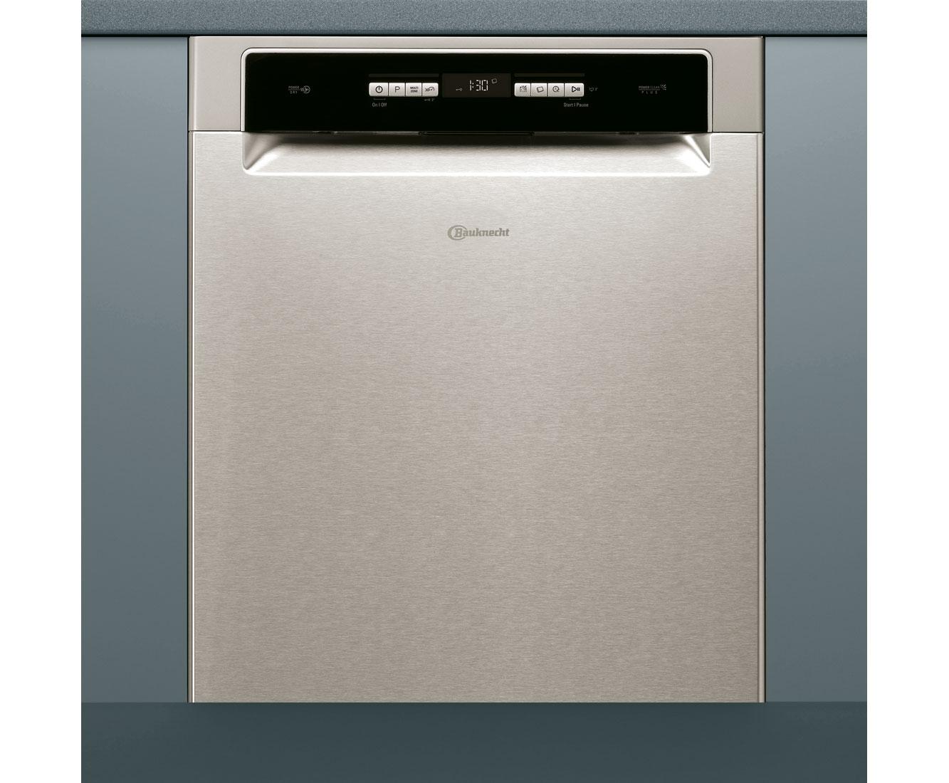 Bauknecht BKUO 3T334 DLM XA Geschirrspüler 60 cm - Edelstahl-Effekt   Küche und Esszimmer > Küchenelektrogeräte > Gefrierschränke   Edelstahl   Bauknecht