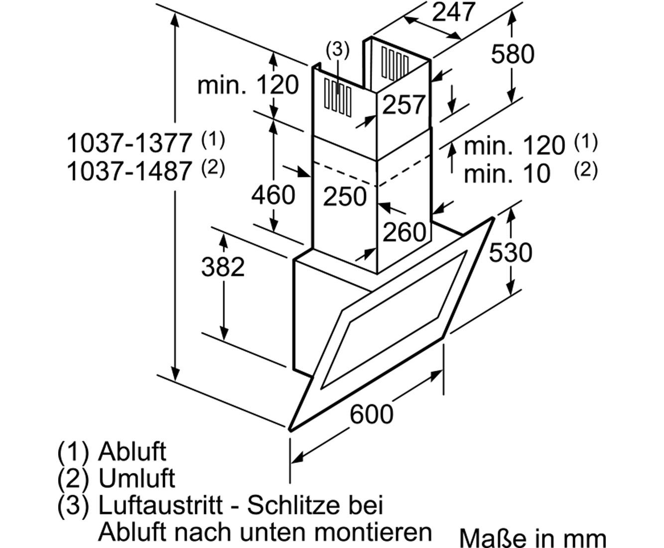 Neff Dunstabzugshaube 60 Cm 2021