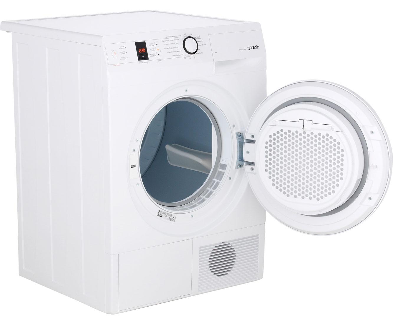 Gorenje d b kondenstrockner kg weiß