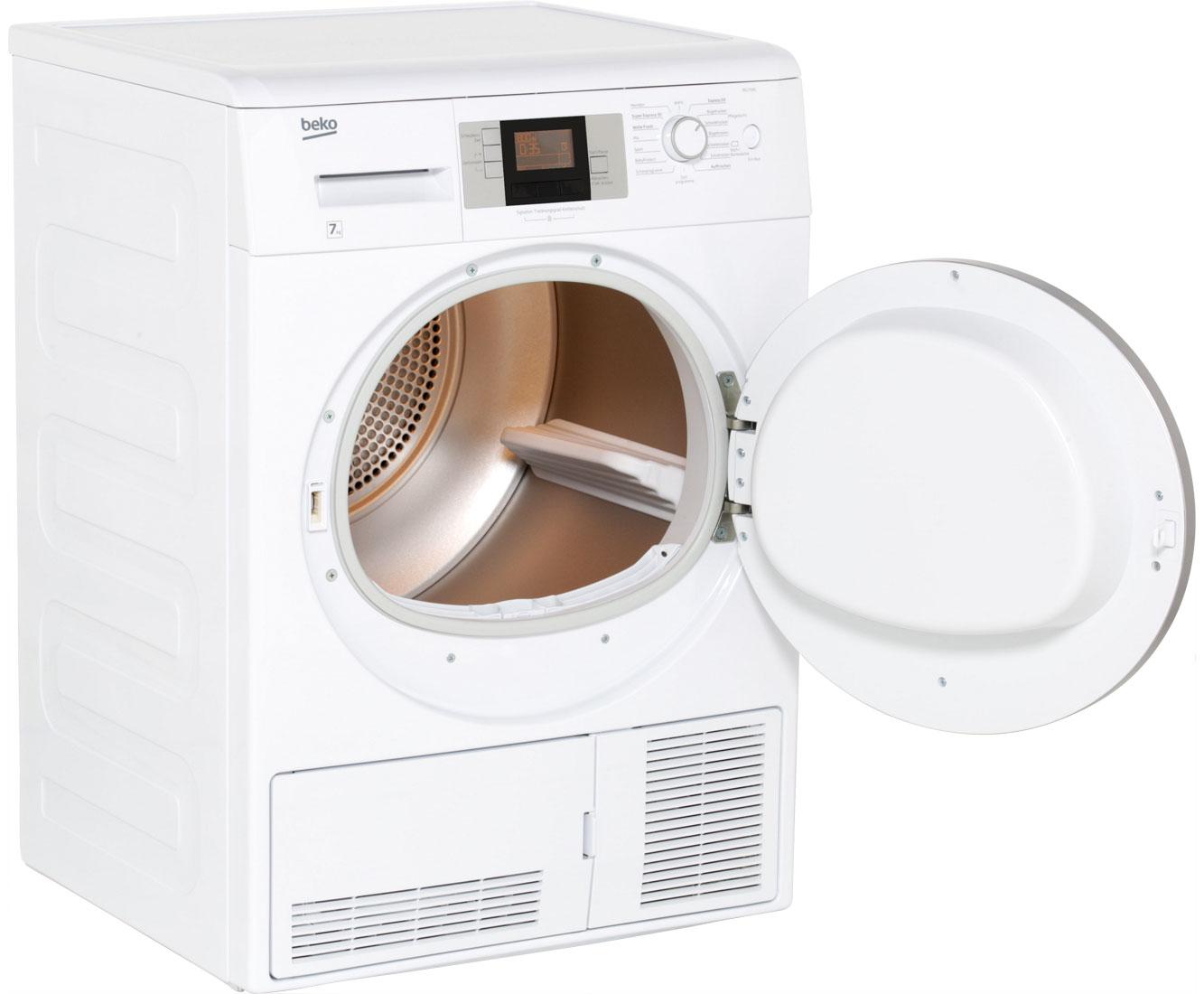 Beko dcu kondenstrockner b kg weiß