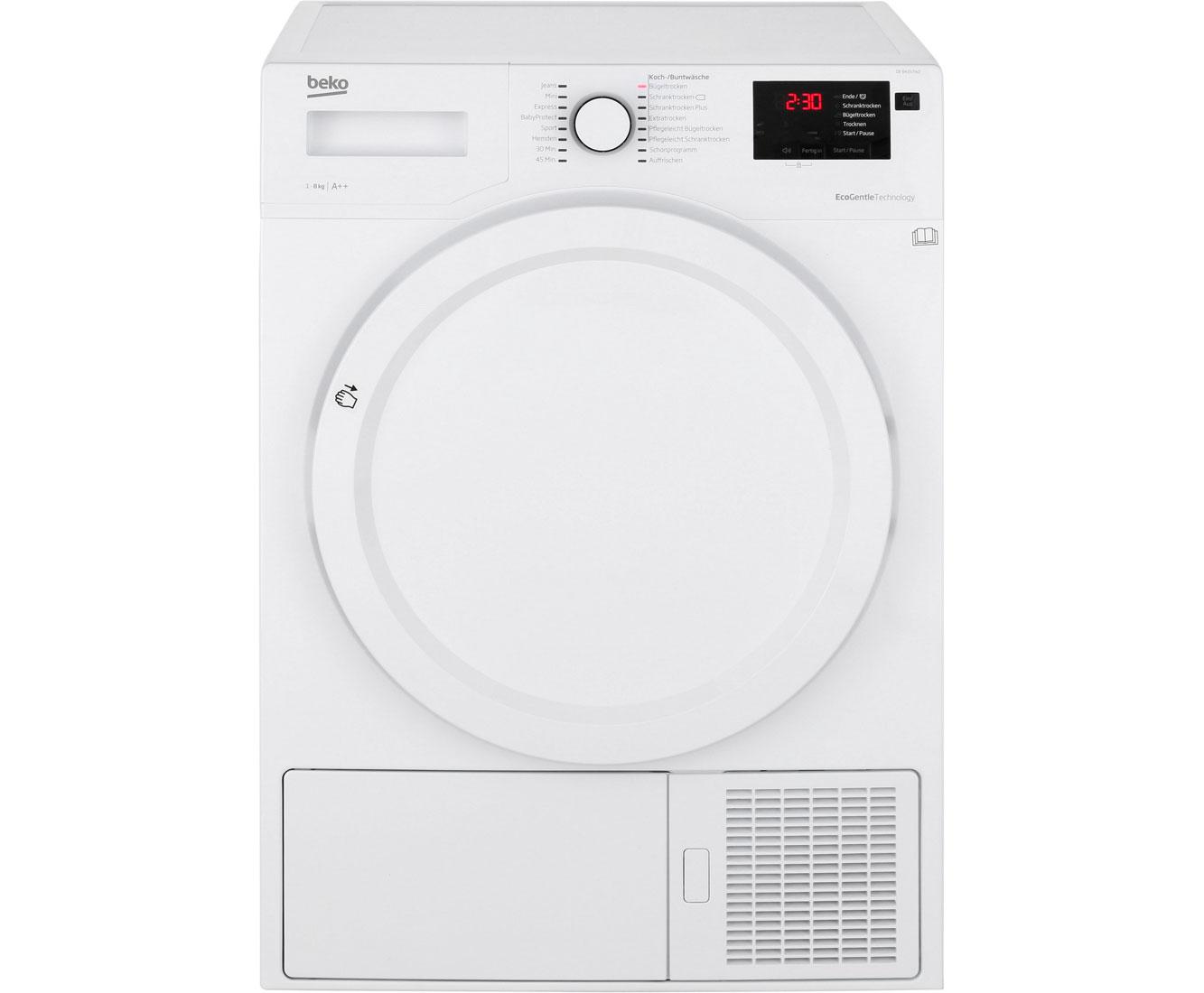 Beko DE8433PA0 Wärmepumpentrockner - Weiss | Bad > Waschmaschinen und Trockner | Weiss | Beko