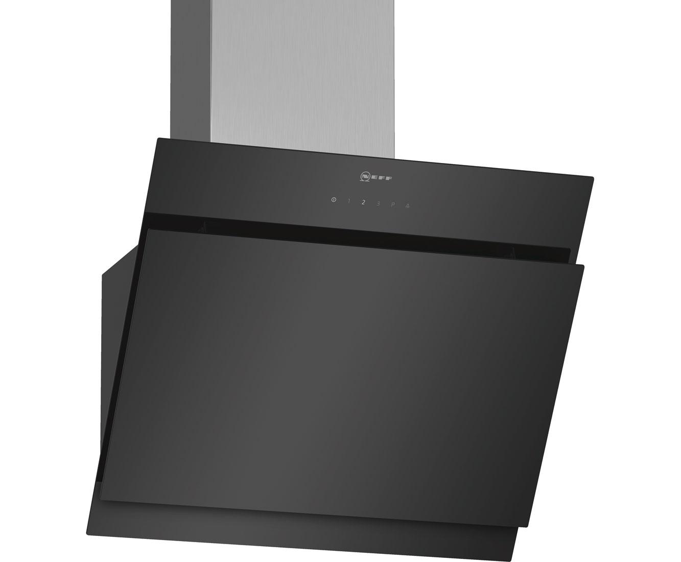 Neff dihm s dunstabzugshaube eingebaut cm schwarz edelstahl