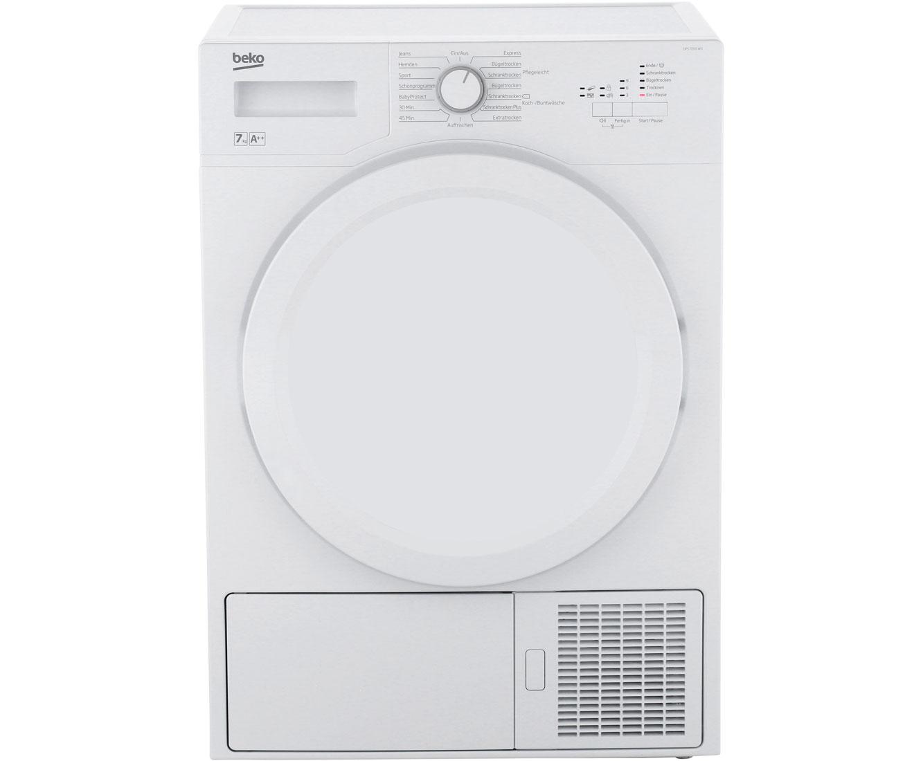 Beko Green line-Serie DPS7205W3 Wärmepumpentrockner - Weiß | Bad > Waschmaschinen und Trockner > Wärmepumpentrockner | Weiß | Beko