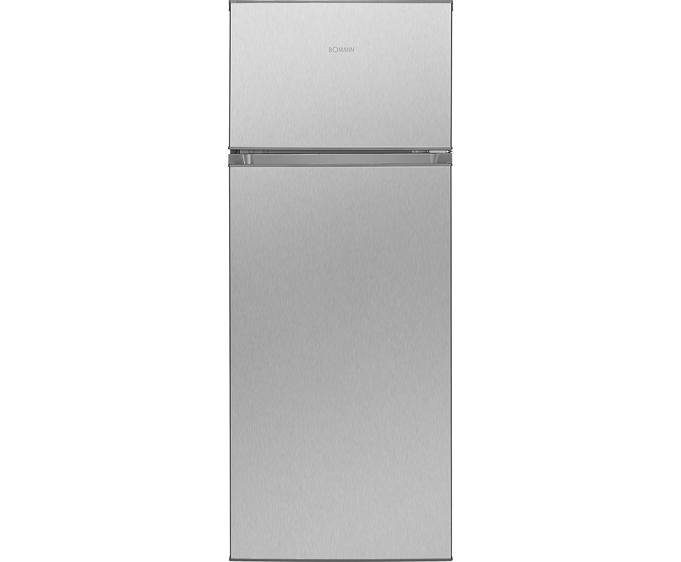 Bomann DT 7311 Kühlschränke - Edelstahl-Optik