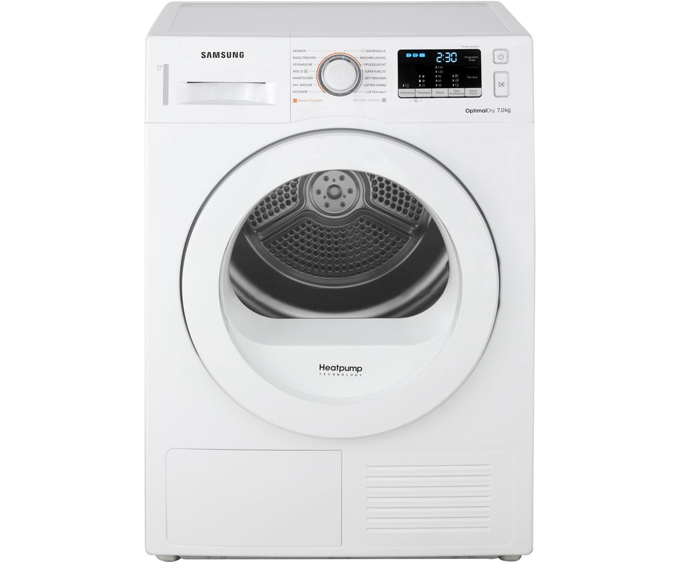 Samsung DV70M5020KW/EG Wärmepumpentrockner - Weiss | Bad > Waschmaschinen und Trockner | Weiss | Samsung