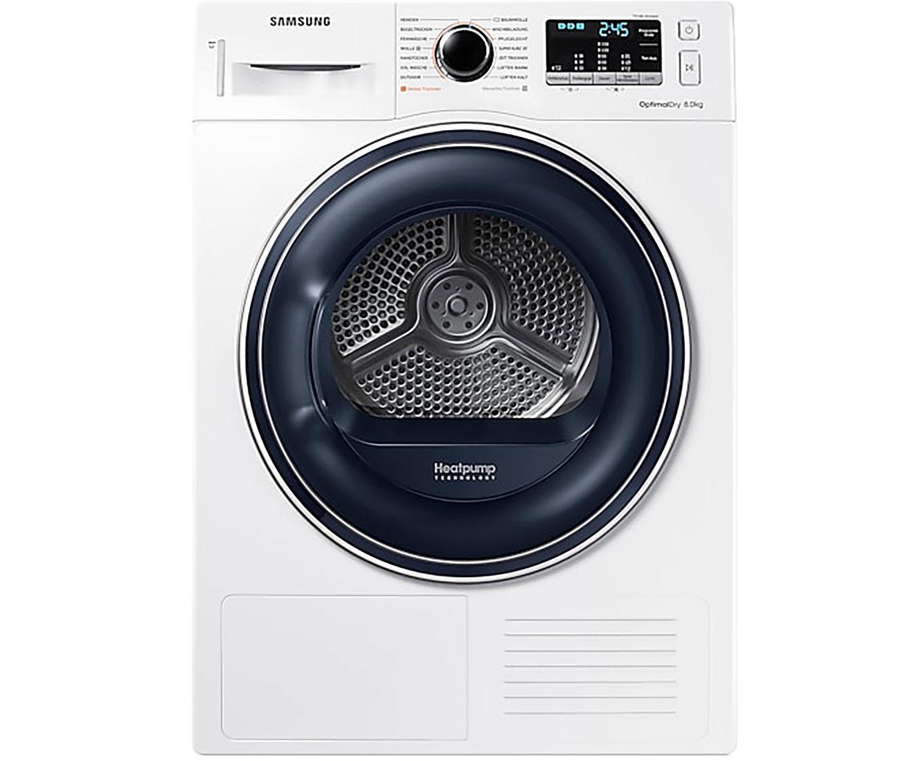Samsung DV81M50103W/EG Wärmepumpentrockner - Weiß | Bad > Waschmaschinen und Trockner > Wärmepumpentrockner | Weiß | Samsung