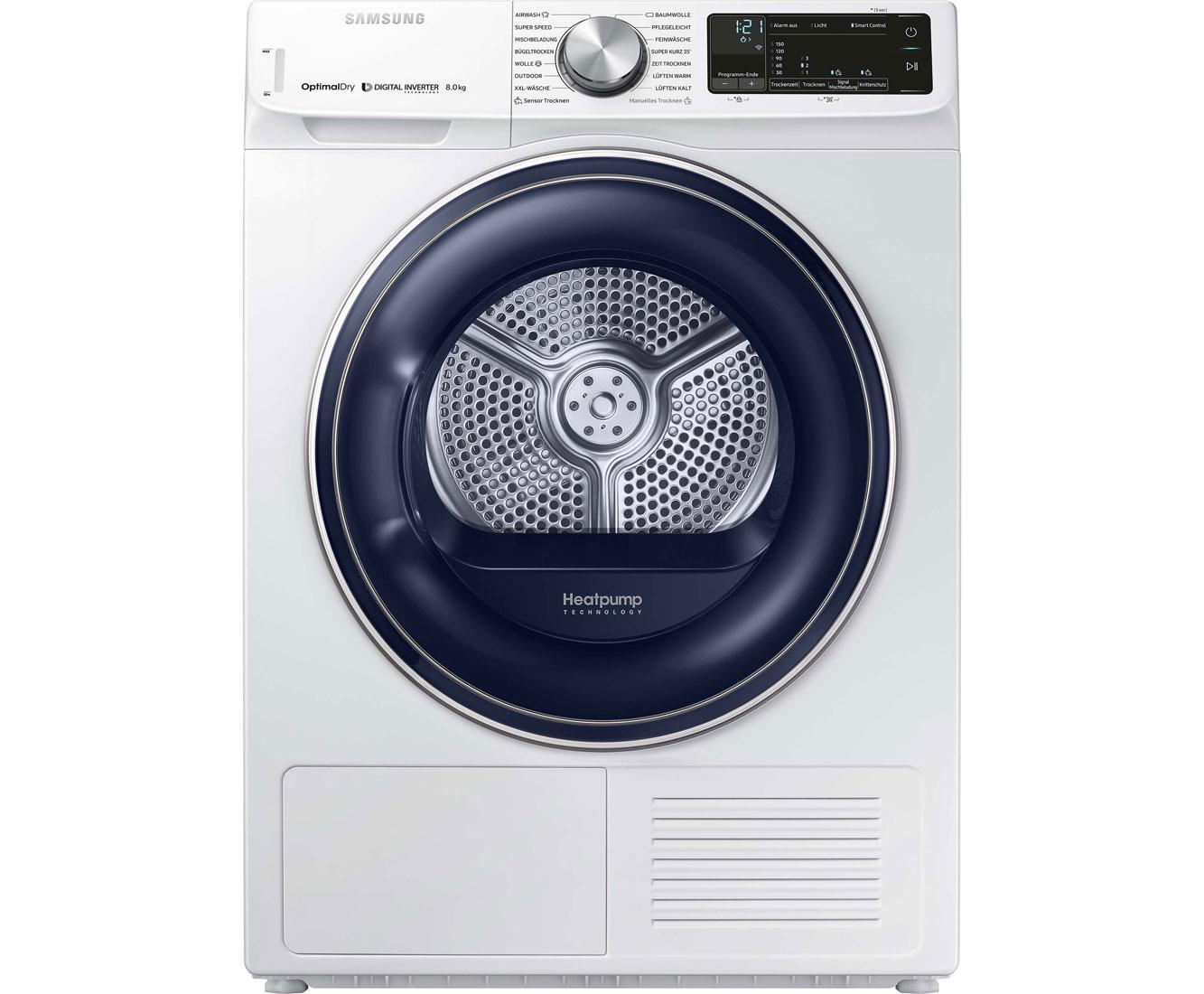 Waschmaschinen und trockner weiss wärmepumpentrockner online