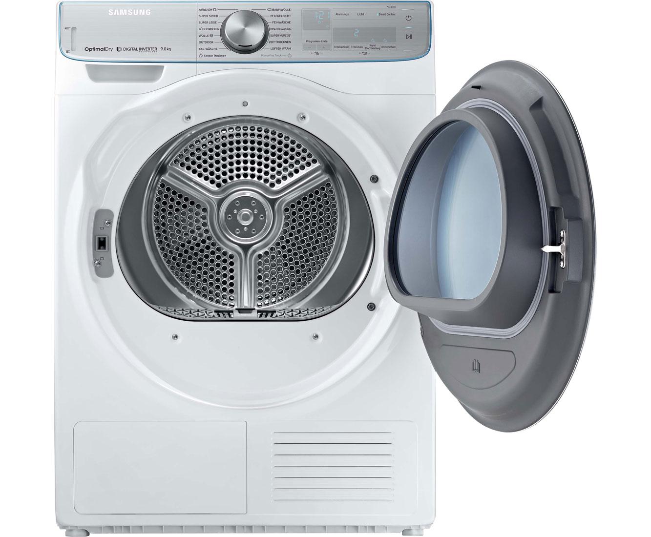 Samsung dv n aw eg wärmepumpentrockner kg weiß a
