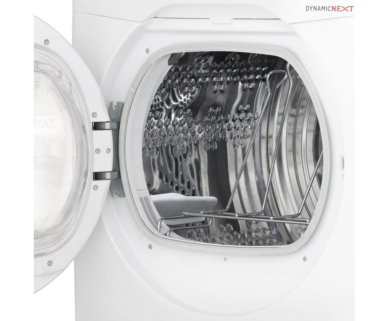 Hoover dx h10a2tcex s wärmepumpentrockner 10 kg weiß