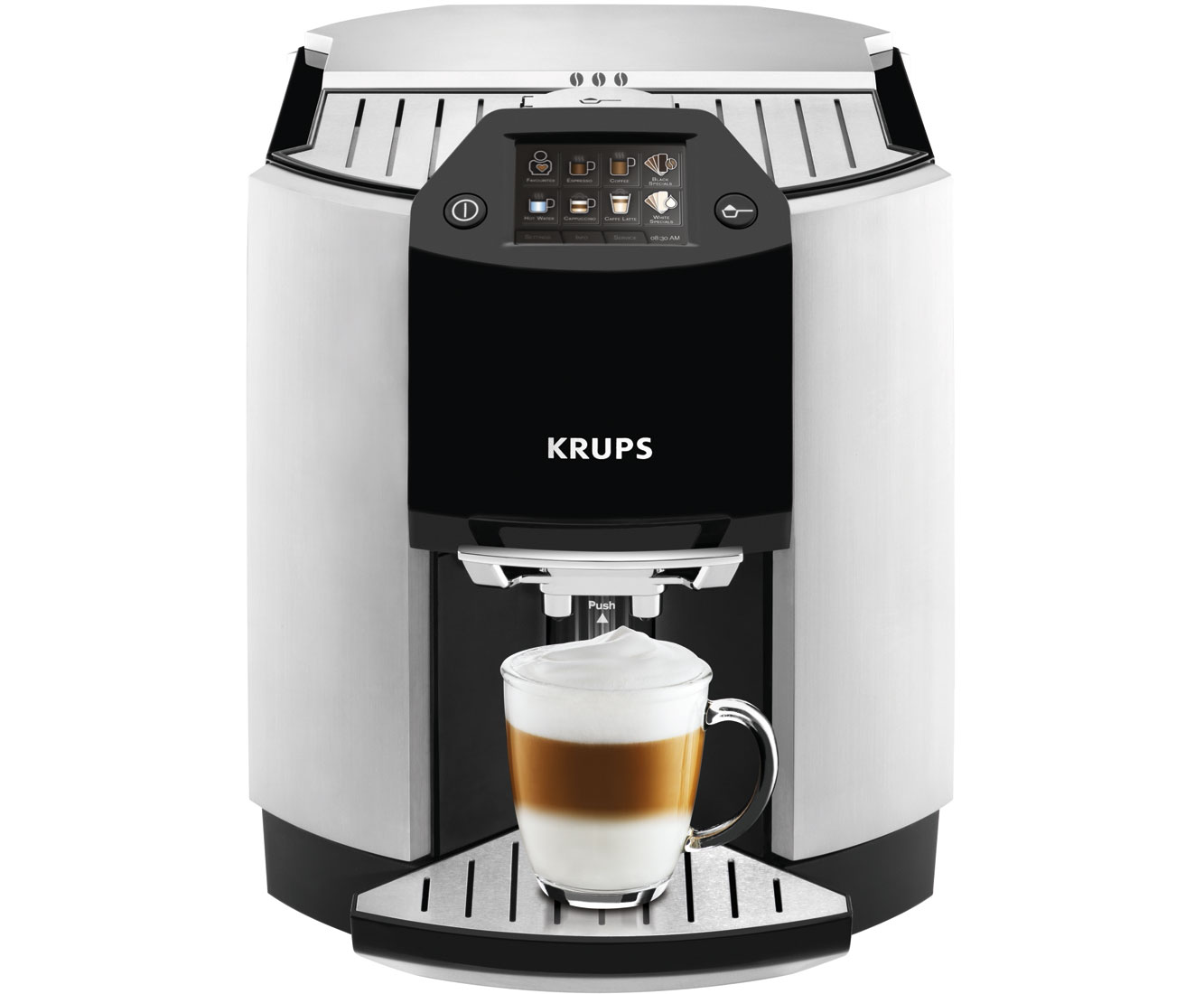 EA9010 Kaffeemaschinen - Edelstahl / Schwarz