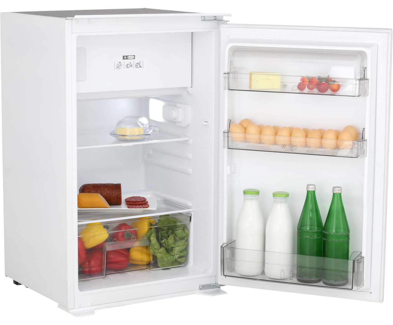 Kühlschrank Klein Mit Gefrierfach : Exquisit eks 131 4 a einbau kühlschrank mit gefrierfach 88er