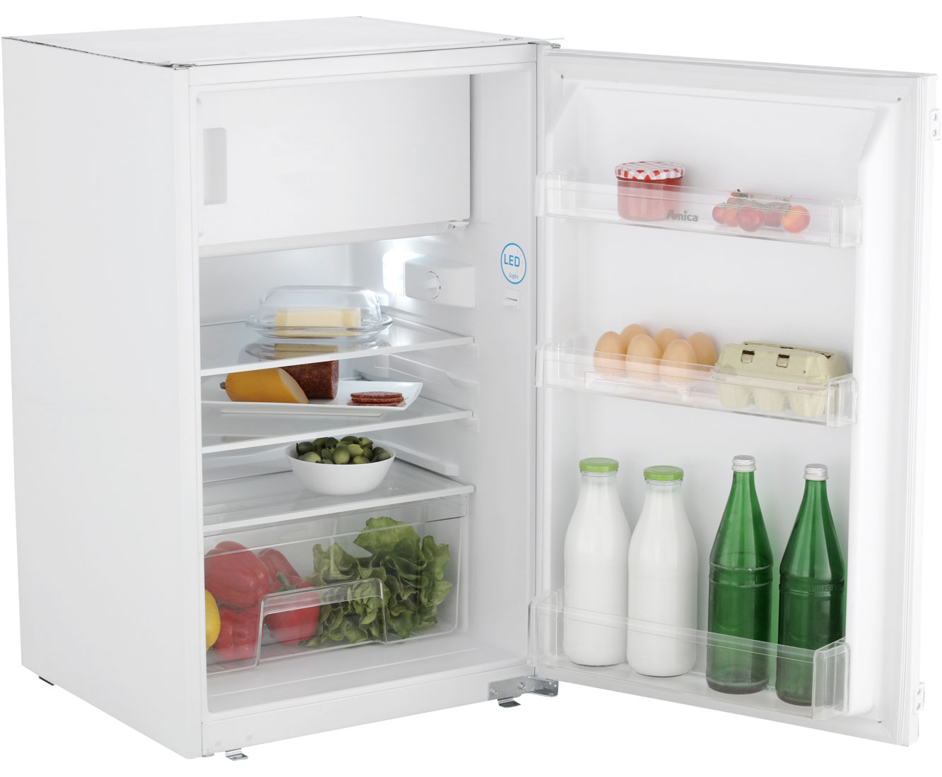Amica Kühlschrank Gut Oder Schlecht : Amica eks einbau kühlschrank mit gefrierfach schlepptür