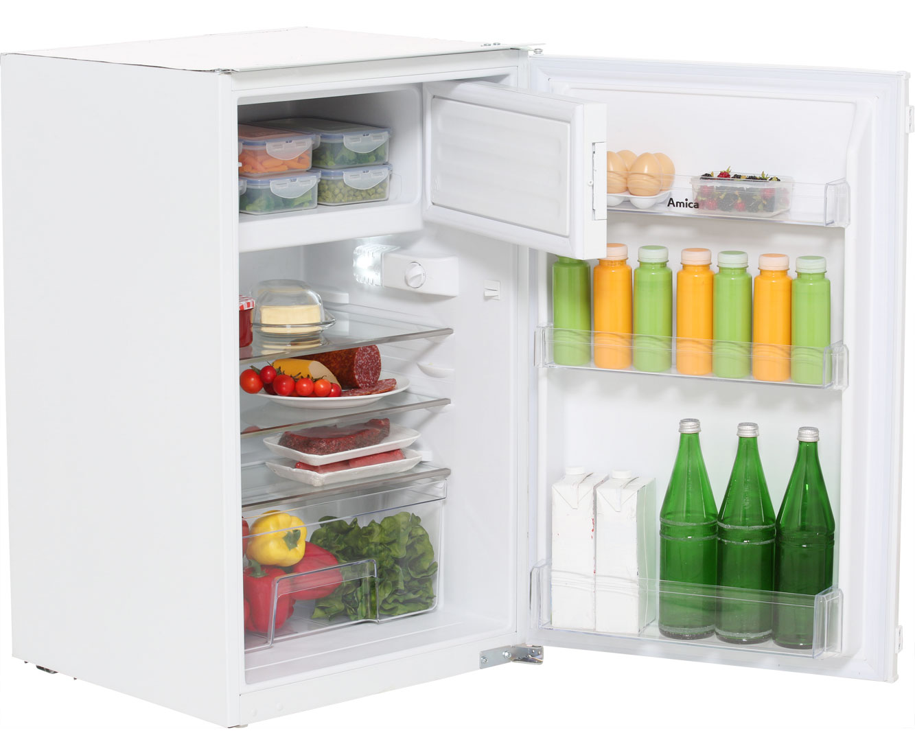 Amica Kühlschrank Made In : Amica eks kühlschrank eingebaut cm weiss neu ebay