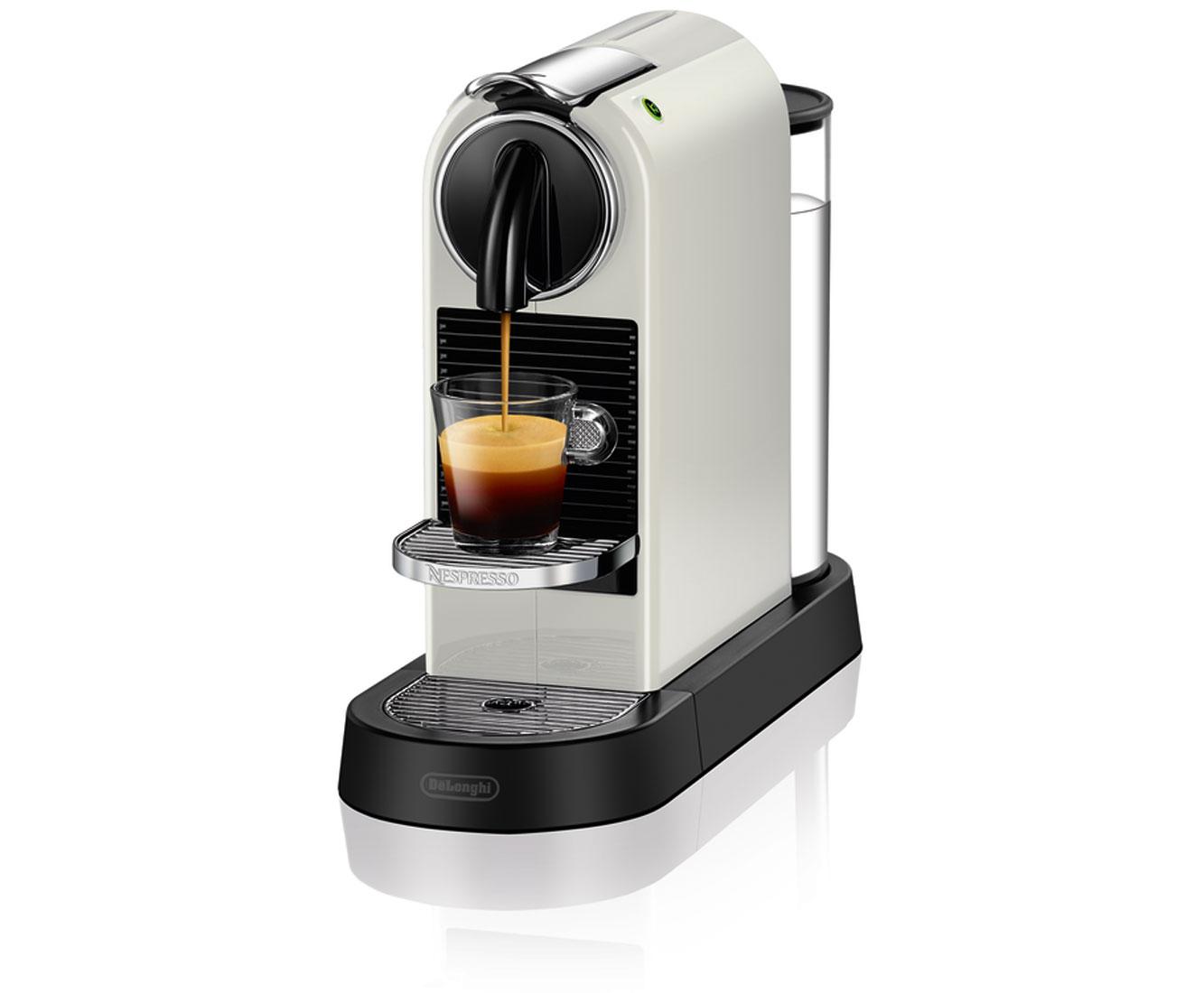 DeLonghi Nespresso CitiZ EN 167.W Kaffeemaschinen - Weiss