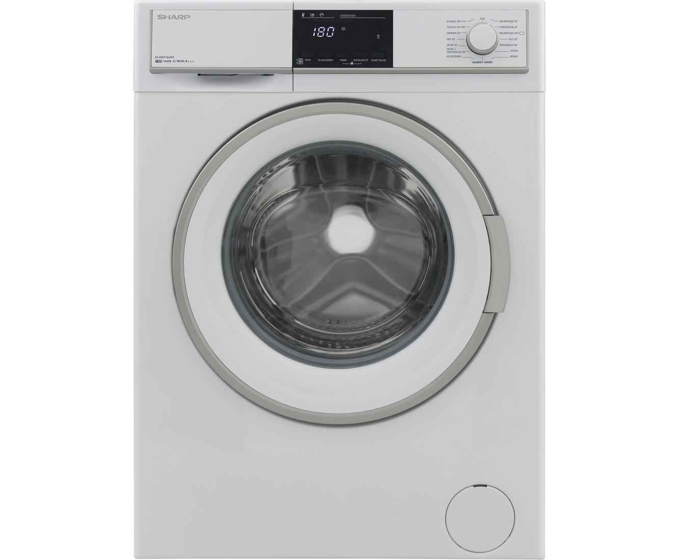 Sharp Vestel ES-GFB7143W3-DE Waschmaschine Freistehend Weiß Neu