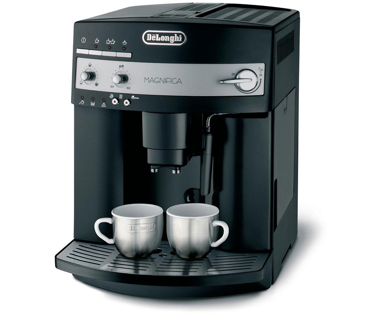 Magnifica ESAM 3000.B Kaffeemaschinen - Schwarz / Silber