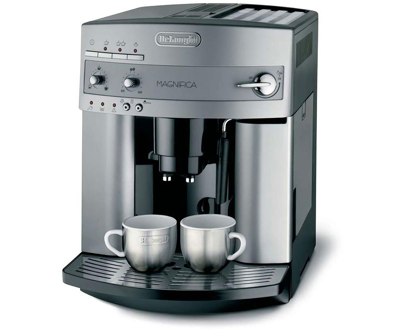 Magnifica ESAM 3200.S Kaffeemaschinen - Silber / Schwarz
