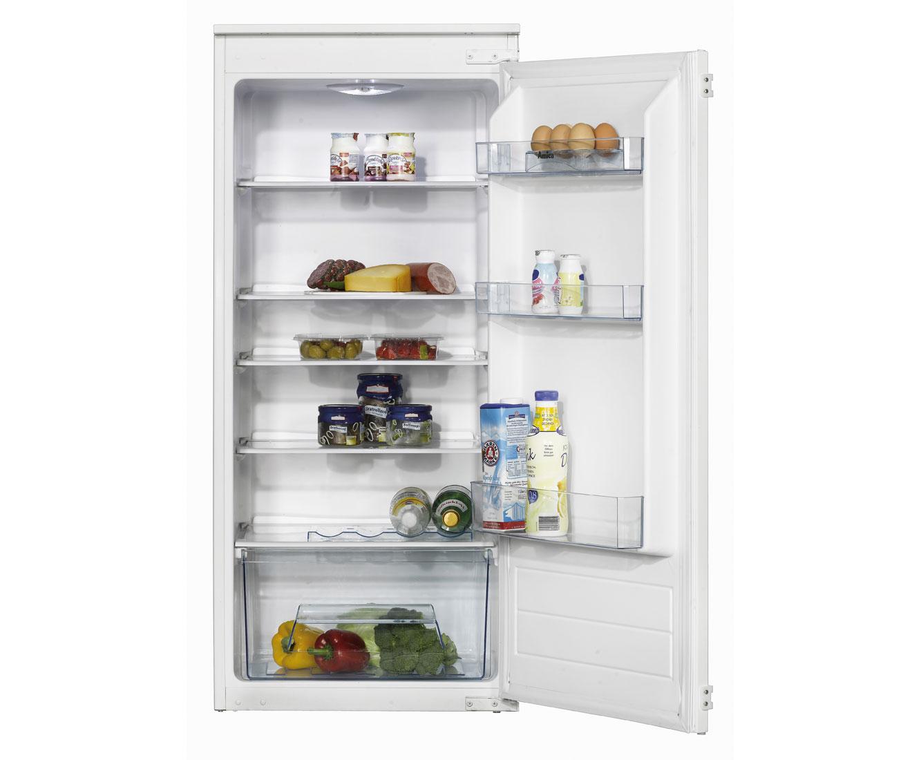 Amica Kühlschrank Lampe : Amica evks einbau kühlschrank er nische schlepptür