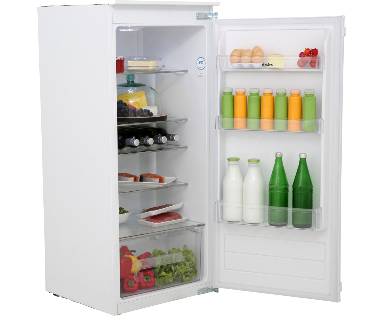 Amica EVKS 16175 Kühlschränke - Weiß