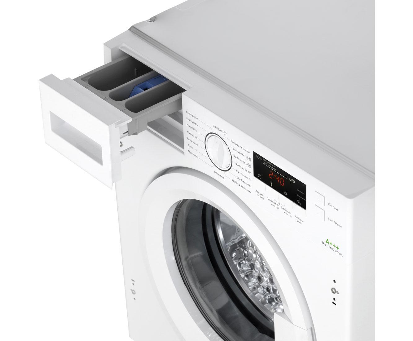 Amica Ewa 34657 W Einbau Waschmaschine Weiss 8 Kg 1400 U Min A