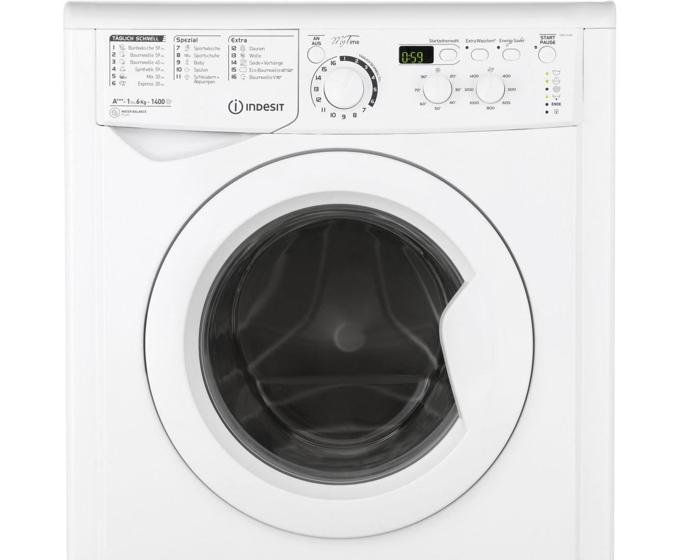 Indesit Ewd 61483 W De Waschmaschine Weiss 6 Kg 1400 U Min A