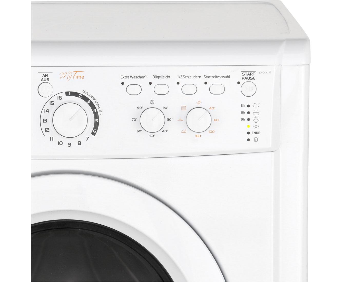 Indesit Ewdc 6145 W De Waschtrockner 6 Kg Waschen 5 Kg Trocknen