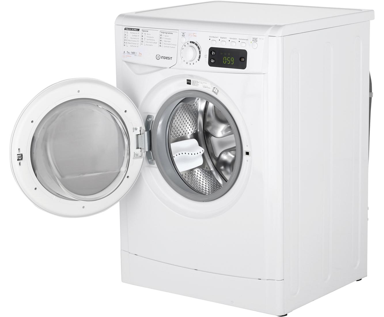 Indesit ewde w de waschtrockner freistehend weiss neu ebay